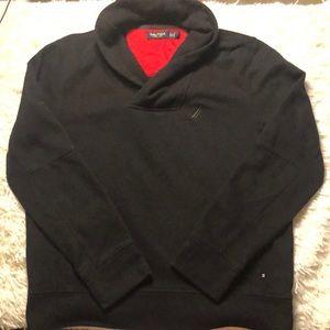 Nautica black oversized pullover